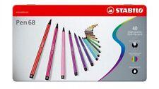 STABILO 68 Premium Feltro-Tip Penna Scatola di metallo di colori