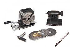 Rundtisch, Teilapparat, Rundteiltisch HB  RT 110 mm Rundteilapparat +  Reitstock