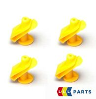 NEW GENUINE SMART FORTWO ENGINE UNDERTRAY YELLOW PLASTIC SCREW CLIPS A0019913970
