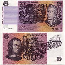 Australia, 5 Dollars 1974, Pick 44a, XF