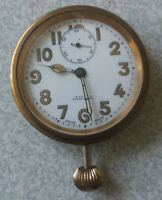 ANTIQUE CASED TRAVEL POCKET WATCH - JENNERS EDINBURGH - REGLA  MOVEMENT