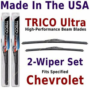 Buy American: TRICO Ultra 2-Wiper Blade Set fits listed Chevrolet: 13-22-20