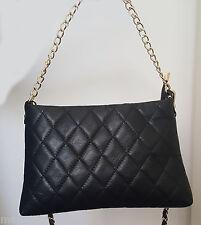 borsa da donna in vera pelle made in italy nera   bag leather nero traputtata