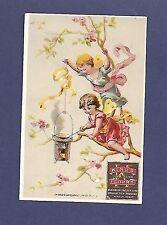 Vintage Kings Flour Trade Card Buck Wheat Batter Cake Winter Wheat Fairies