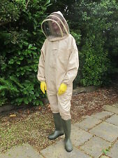 PREMIUM QUALITY Beekeeping Fencing Suit - Camel. All Sizes. Protective Equipment