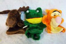 "Moose Frog Tigger Hand Puppet 9"" Plush Soft Toy Stuffed Animal"