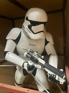 ANOVOS STAR WARS MANDALORIAN THE FORCE AWKENS STORMTROOPER LIFE SIZE FIGURE