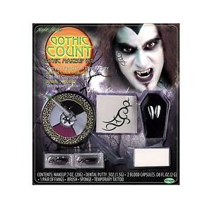 Fun World Night Shades Gothic Count Makeup Kit