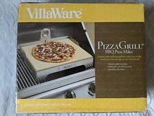 New listing VillaWare Pizza Grill Maker (Grill / Oven) Stone Bbq Thermometer Made in Usa