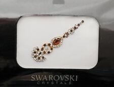 Bindi bijoux piel boda frente strass cristal de Swarovski Ámbar ING C 3674