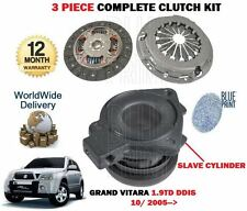 FOR SUZUKI GRAND VITARA 1.9TD DDIS F9Q 1870cc 10/2005-> NEW CLUTCH KIT COMPLETE