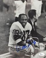 PACKERS Willie Davis signed photo JSA COA AUTO Autographed 8x10 SB I II Green Ba