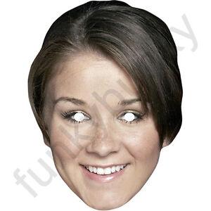 Brooke Vincent Sophie Celebrity Card. All Masks Are Ready To Wear
