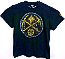 UNK NBA Denver Nuggets Men's T Shirt XL Short Sleeve Rubberized/Textured Logo