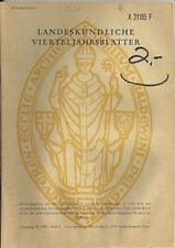 Landeskundliche Vierteljahresblätter Heft 3 1987 Silbertypar des Konrad Langenf
