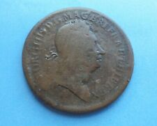 More details for united states, 1722 twopence, rosa americana, george i, rare, as shown.