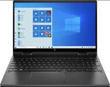 """New HP Envy X360 2-in-1 15.6"""" Touch-Screen Full HD AMD Ryzen 5 8GB RAM 256GB SSD"""