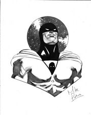 Space Ghost by Mike Perkins Original Art Commission Sketch 11x14