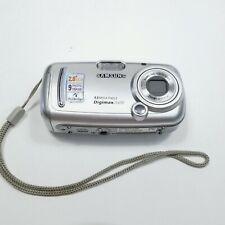 Samsung Digimax A400 4.0MP Digital Camera Silver Digital Zoom