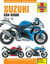 6345 Suzuki GSX-R1000 2009 - 2016 Workshop Manual