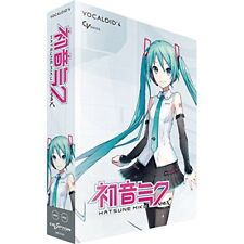 Crypton Hatsune Miku V4X VOCALOID4 DVD Software Windows Mac New From Japan