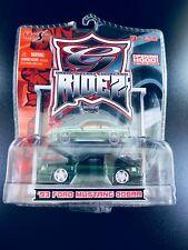 ULTRA-RARE Maisto G Ridez 1993 93 SVT Ford Mustang Cobra RARE GREEN 1:64 Scale