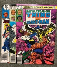 Marvel Two-In-One 51, 53, 55!
