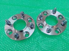 2 PC x HUB CENTRIC WHEEL SPACERS ADAPTER 4x4.5 4x114.3 66.1 CB 25MM 12X1.25