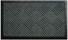 Tapis gris en polypropylène avec des motifs Carreaux pour la maison