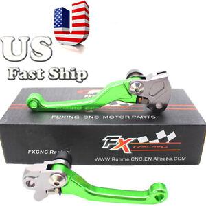 For Kawasaki KX85 2001-2020 2014 2013 2012 2011 Dirt Pivot Brake Clutch Levers