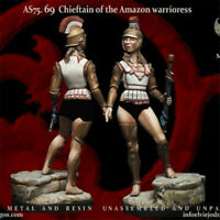 1/24 Chieftain of Amazon warrioress Resin Kits Unpainted Model GK Unassembled