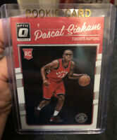 2016-17 Donruss Panini 1st yr Optic Pascal Siakam RC Rookie Toronto Raptors #171