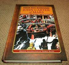 Edgar Rice Burroughs John Carter of Mars Trilogy Hardback MINT, NEW, NEVER READ