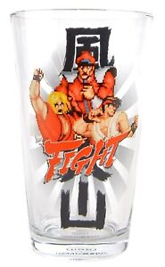 """Street Fighter """"Fight"""" Pint Glass (Brand New - RRP £9.99)"""