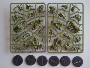 Games Workshop Warhammer 40k Death Guard - 6 Figures - On Sprue