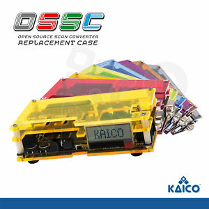 OSSC Replacement Case Kit SCART Component VGA to HDMI Open Source Scan Converter