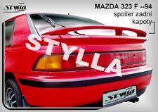 SPOILER REAR BOOT TRUNK TAILGATE MAZDA 323F 98-94 WING ACCESSORIES