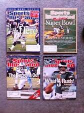 4 Sports Illustrated 2004 NEW ENGLAND PATRIOTS Tom Brady SUPER BOWL Football