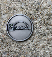 Pga Tour Fedex Cup Official Silver Tone Logo Coin Golf Ball Marker