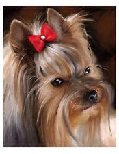 artav Yorkshire Terrier 05 Art Print Dog Puppy Painting