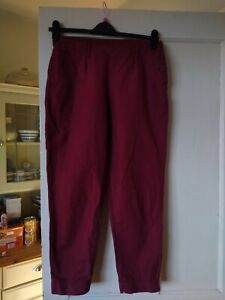 LADIES FAB LINEN MIX TROUSERS SIZE 12 P FROM SEASALT CORNWALL