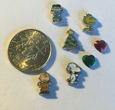 Snoopy Christmas Tree Peanuts Lucy Charlie Brown  Fits Origami Owl Locket Charm