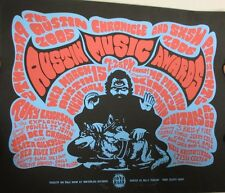 Austin Music Awards /Billy Perkins Signed Limited Poster 2006 Sxsw/Roky Erickson
