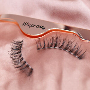 False Eyelash Applicator Tweezer Fake LASH APPLICATOR for eyelashes ROSE GOLD