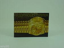 FOLLETO Rolex Genuino su instrucción de Rolex Oyster Vintage 1996