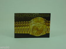 Genuine Rolex booklet vintage Your Rolex Oyster instruction 1999 (USA version)