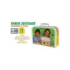 VARIO SUITCASE 72 CILINDRI IN  LEGNO COMPONIBILI VALIGETTA ( Walachia - 35 )