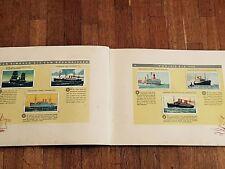 Album Figurine STORIA NAVIGAZIONE 1933 COMPLETE sticker marina navy marines navi