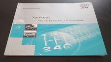Betriebsanleitung Audi A4 Avant B5 Frontantrieb & quattro Stand 1995