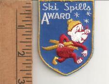 Downhill Skiing  - Ski Spills Award - Crest - Patch